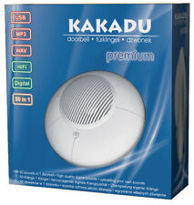 BE CREATIVE! USB DOORBELL KAKADU PREMIUM 50 MP3 TUNES BARKING DOOR BELL CHIME