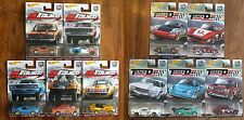 Hot Wheels Car Culture : Redliners and Track Day : 2 Complete Sets : All 10 Cars