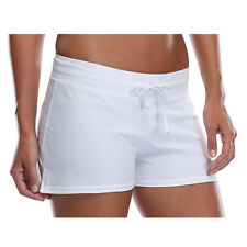 Popular Women Full Coverage Surf Swim Shorts Drawstring Swimwear Stretchy MES