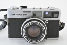 OLYMPUS 35 SP Rangefinder Film Camera W/ Sharp G.Zuiko 42mm f1.7 Lens W/ Case
