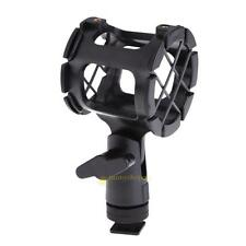 Camera Shock Mount Suspension Holder With Hot Shoe For Microphone Mic NEW