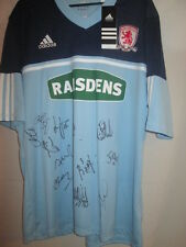 Middlesbrough Squad Signed 2012-2013 Away Football Shirt with COA BNWT 14587