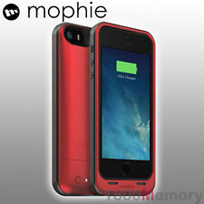 GENUINE Mophie Juice Pack Air Battery Case for Apple iPhone 5 5S SE Red 1700mAh
