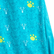Stitch Infinity Scarf Paw Print Double Cloth Disney Lilo & Stitch Limited