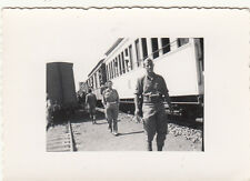 Foto Coloniale A.O.I Ferrovia Mogadiscio-Villaggio Duca Abruzzi
