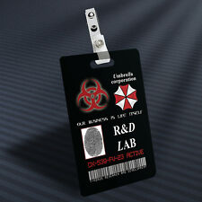 Resident Evil - R&D Lab Prop ID Badge