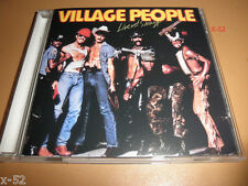The VILLAGE PEOPLE cd LIVE and SLEAZY macho man YMCA medley HOT COP in the Navy