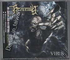 Heavenly: Virus (2006) CD OBI TAIWAN + 2 JAPAN BONUS TRACKS