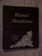 Blessed Abundance, St. Agnes 3rd Edition Cookbook, Springfield IL