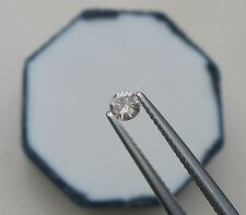 3.5mm Champagne Diamond loose round 0.21 carats