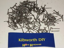 "100g 5/8"" ROUND HEAD NAILS SMALL TACKS PINS 16mm x 1.3g wire nails IKEA BACKING"