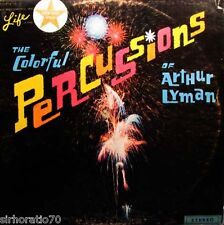 ARTHUR LYMAN The Colorful Percussions Of  LP - 1960's Exotica