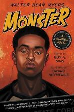 Monster: Monster by Walter Dean Myers and Guy A. Sims (2015, Hardcover)