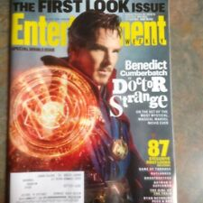 BENEDICT CUMBERBATCH Entertainment Weekly January 2016 First Look Issue