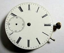 ANTIQUE LONGINES POCKET WATCH MOVEMENT SELLING AS S PARTS OR REPAIR GOOD BALANCE