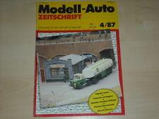 59616) BMW M3 E0 - Magirus S 3500 Umbauten - Modell-Auto 04/1987
