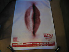 PROMO POSTER-VAGINA MONOLOGUES-LUCY LAWLESS+DANIELLE CORMACK-XENA-NEW ZEALAND