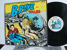 Richard Bone - Brave Tales  SUR LP 005  UK LP 1st Press 1983 Survival