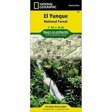 National Geographic El Yunque National Forest Trails Illustrated Topo Map - PR