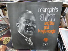 Memphis Slim and the real boogie-Woogie - Folkways records  FWK 53524