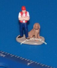 Micro Machines TRUCK DRIVER w/DOG Galoob