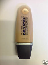 Maybelline NonStop All Day Wear MakeUp Liquid NON STOP Foundation FAWN NEW.