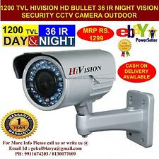 BRAND NEW HIVISION VISION CCTV BULLET SONY CHIP 1200TVL CAMERA SECURITY SYSTEM.