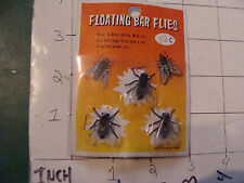 vintage SEALED toy: FLOATING BAR FLIES purchased 1967