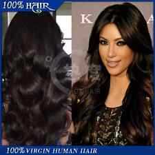 SALE!!! #1 Brazilian Body Wave Human Hair Lace Front Wig 18 Inches 130% Density