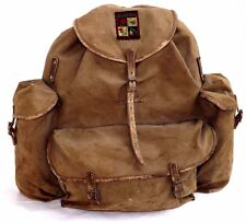 c1930s-40s Vintage 'Bergans Original' Backpack-Made In Oslo Norway
