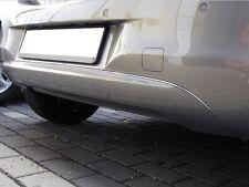 Chromstrebe für Opel Corsa E Heckstoßfänger Stoßfänger Chrom Tuning ab 2015