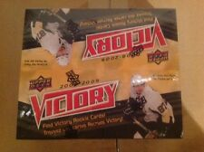 2008/09 UPPER DECK VICTORY NHL HOBBY BOX FACT SEALD