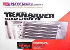 Hayden 401 Transaver Ultra-Cool Automatic Transmission Oil Cooler OC 1401 New