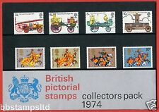 1974 British Pictorial Stamps Year Pack