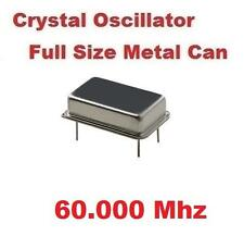 60.000Mhz 60.000 Mhz CRYSTAL OSCILLATOR FULL CAN ( Qty 10 ) *** NEW ***