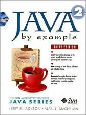 Java 1.2 By Example (3rd Edition), McClellan, Alan, Jackson, Jerry, Good Conditi