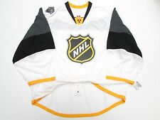 2016 NHL ALL STAR GAME AUTHENTIC WHITE REEBOK EDGE 2.0 7287 JERSEY GOALIE CUT 60