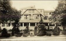 Osterville Cape Cod MA East Bay Lodge c1920s Real Photo Postcard
