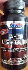 APS Nutrition WHITE LIGHTNING Fat Burner Weight Loss ENERGY ENDURANCE 60 Caps