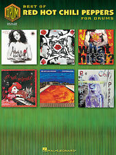Best of Red Hot Chili Peppers for Drums Music Book LEARN ROCK STYLE HITS SONGS