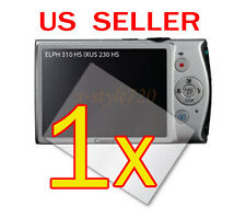 1x Canon ELPH 310 HS / IXUS 230 HS Digital Camera LCD Screen Protector Guard