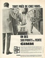 Publicité Advertising 1967  Menuiserie GIMM fenetres portes