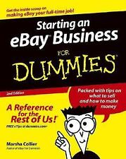 Starting an eBay Business for Dummies by Marsha Collier (2004, Paperback, Revise