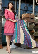 Office Daily wear printed cotton salwar kameez suit unstitched dress material