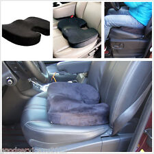 Black Memory Foam Car Seat Back Ache Pain Relief Pad Pillow Cushion For Cadillac