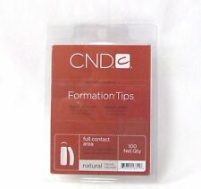 CND Creative Nail Tips FORMATION NATURAL 100ct/tray