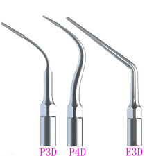 3 Pcs Dental Endo Perio Tips Fit EMS Woodpecker Ultrasonic Scaler Handpiece