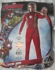 Marvel Avengers Iron Man Jumpsuit Halloween Costume Youth L (12-14) - CY1 - NWT