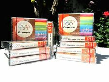 CASSETTE TAPE BLANK SEALED RARE - 1 x OLYMPIC C-60 [1970's] HONG KONG