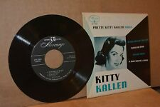 PRETTY KITTY KALLEN SINGS MERCURY VG++ EXTENDED PLAY (EP) 45 & CARDBOARD COVER